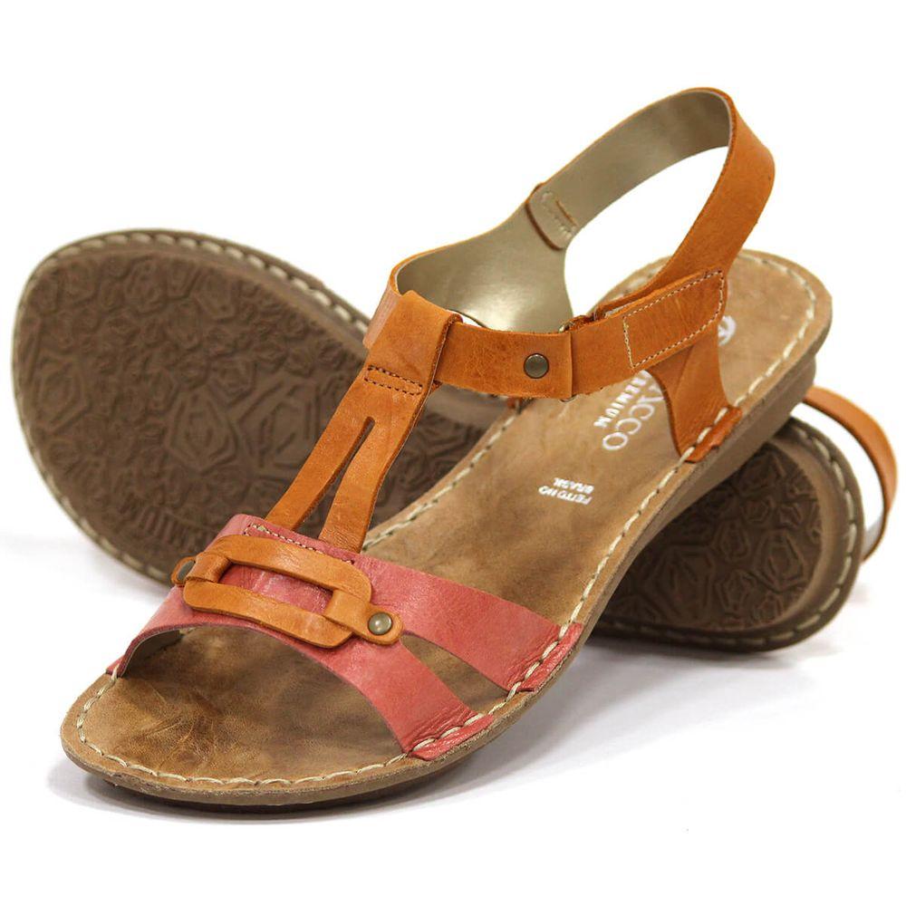 Sandália em Couro - Mango - 34